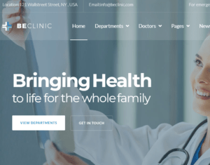 Healthcare Website Design and Development