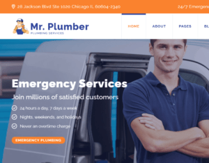 Home Services Webdesign and Development