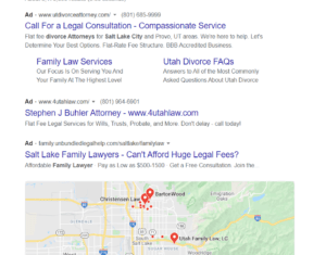 Law Firm Google Adwords