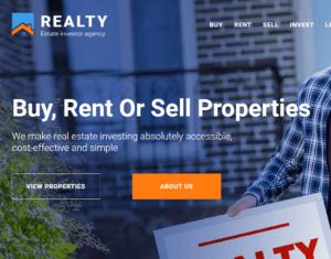 Real Estate Website Design and Development