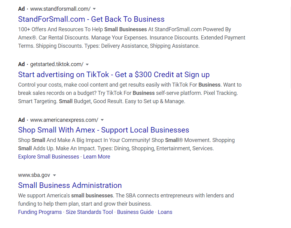 Small Business Digital Advertising